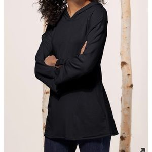 Soft Surroundings Warm & Cozy Pullover Black - M